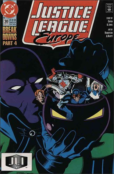 Justice League Europe 30-A by DC