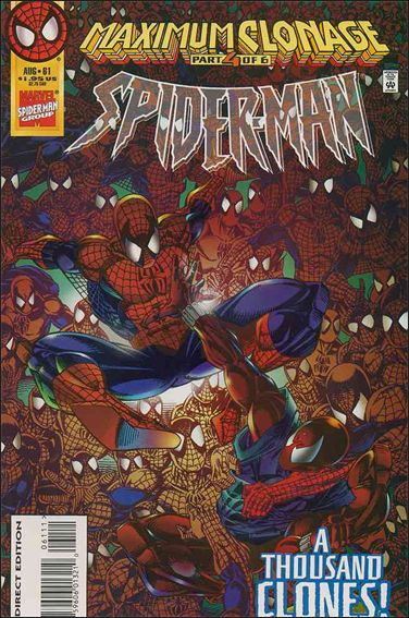 Spider-Man (1990) 61-A by Marvel