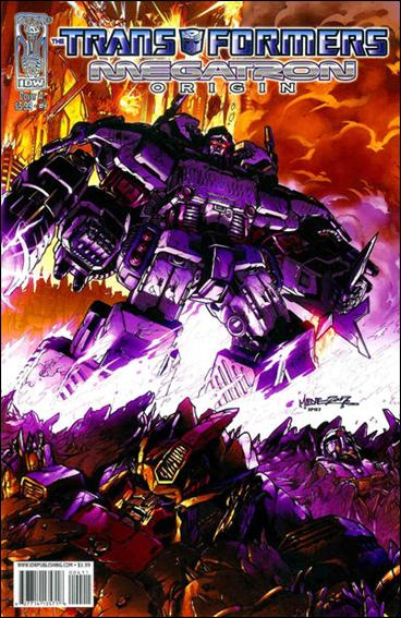 Transformers: Megatron Origin 4-A by IDW