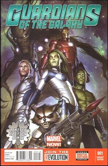 Guardians of the Galaxy (2013) 1-M by Marvel