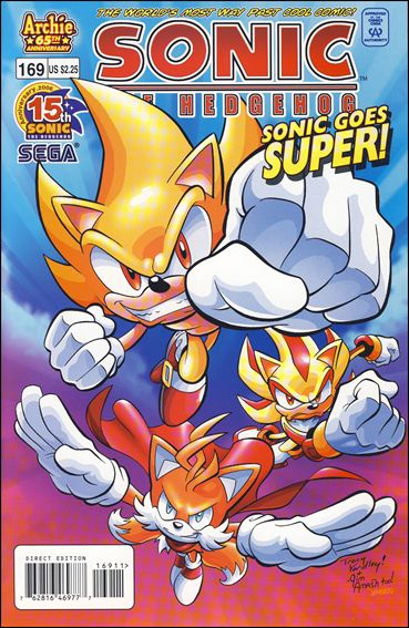Sonic the Hedgehog (1993) 169-A by Archie