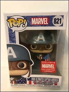 POP! Marvel WWll Ultimates Captain America by Funko
