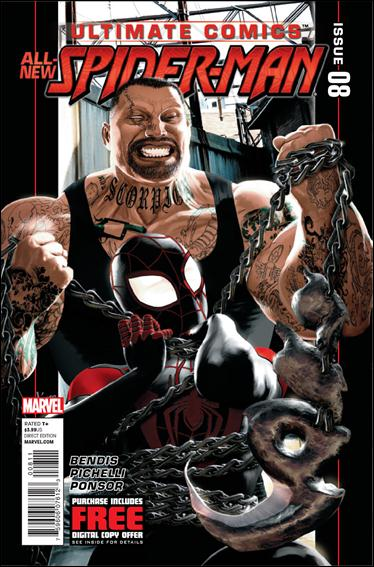 Ultimate Comics Spider-Man 8-A by Marvel
