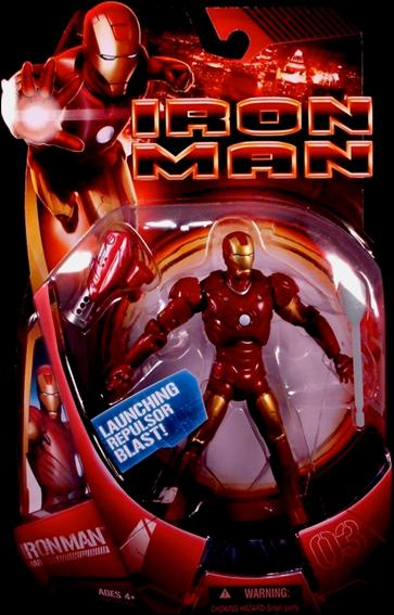 Iron Man (Movie) Iron Man (Mark 03) by Hasbro