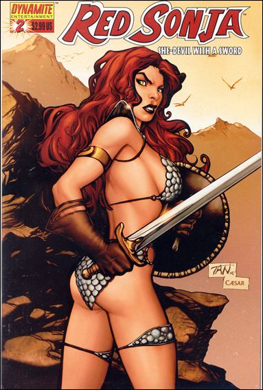 Red Sonja (2005) 2-E by Dynamite Entertainment
