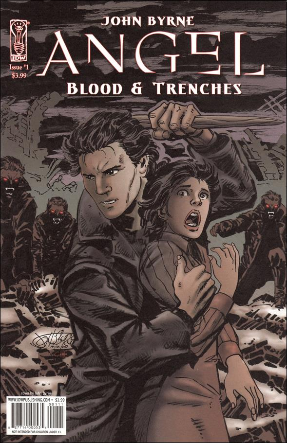Angel: Blood & Trenches 1-A by IDW