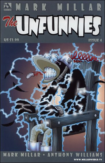 Mark Millar's The Unfunnies 4-A by Avatar Press