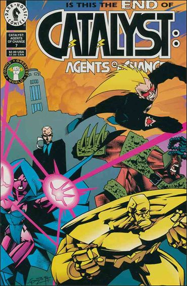 Catalyst: Agents of Change 7-A by Dark Horse