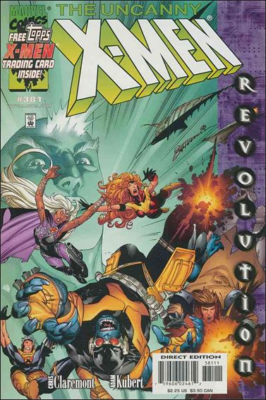Uncanny X-Men (1981) 381-A by Marvel