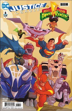 Justice League/Power Rangers 6-A