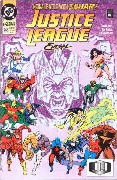 Justice League Europe 50-A by DC