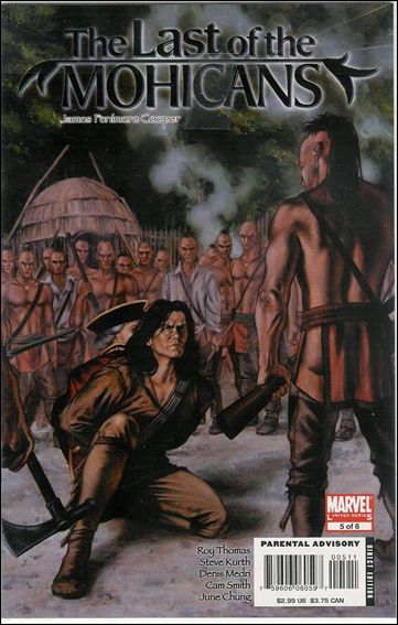 Marvel Illustrated: The Last of the Mohicans 5-A by Marvel