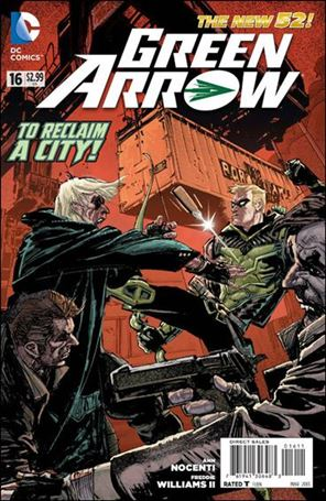 Green Arrow (2011) 16-A
