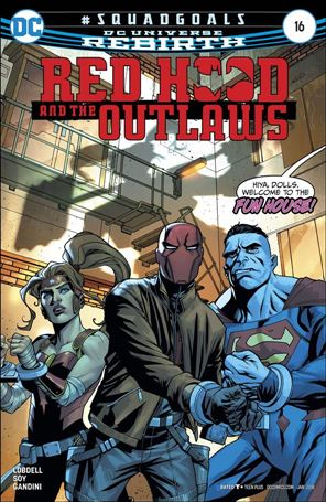Red Hood and the Outlaws (2016) 16-A