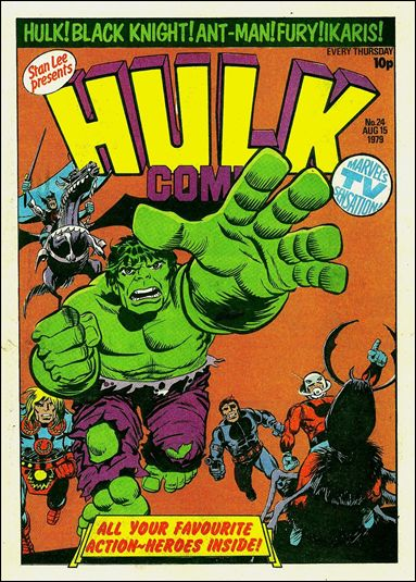 Hulk Comic (UK) 24-A by Marvel UK