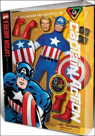 Captain Action (2012) Captain America (Deluxe)