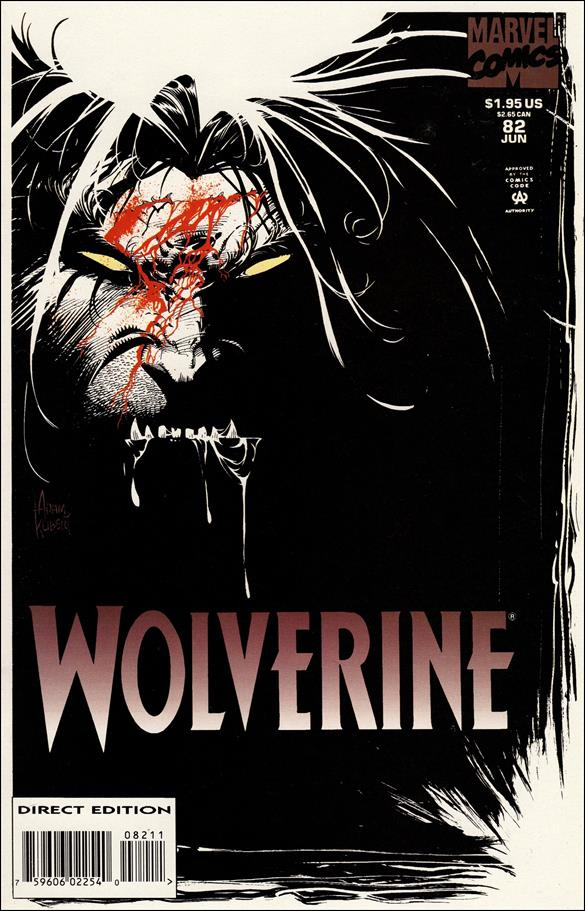 Wolverine (1988)  82-A by Marvel
