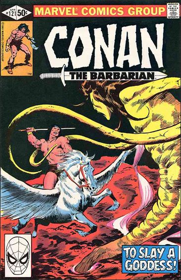 Conan the Barbarian (1970) 121-A by Marvel