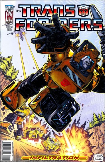 Transformers: Infiltration 1-B by IDW