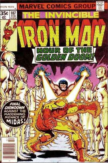 Iron Man (1968) 107-A by Marvel