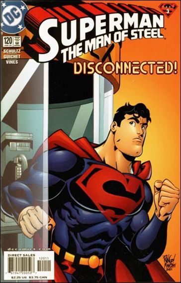 Superman: The Man of Steel 120-A by DC