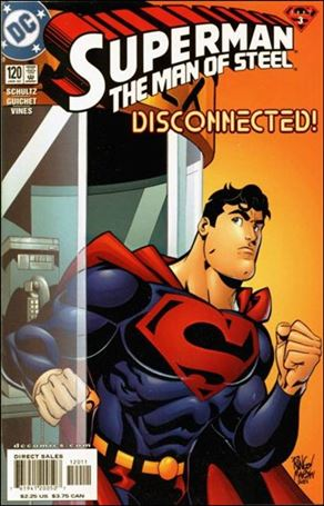 Superman: The Man of Steel 120-A