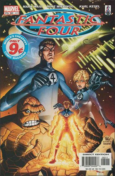 Fantastic Four (1998) 60-A by Marvel