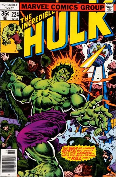 Incredible Hulk (1968) 224-A by Marvel