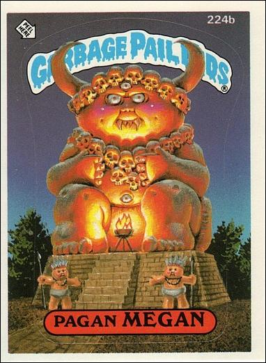 Garbage pail kids series 06 base set 224b a by topps