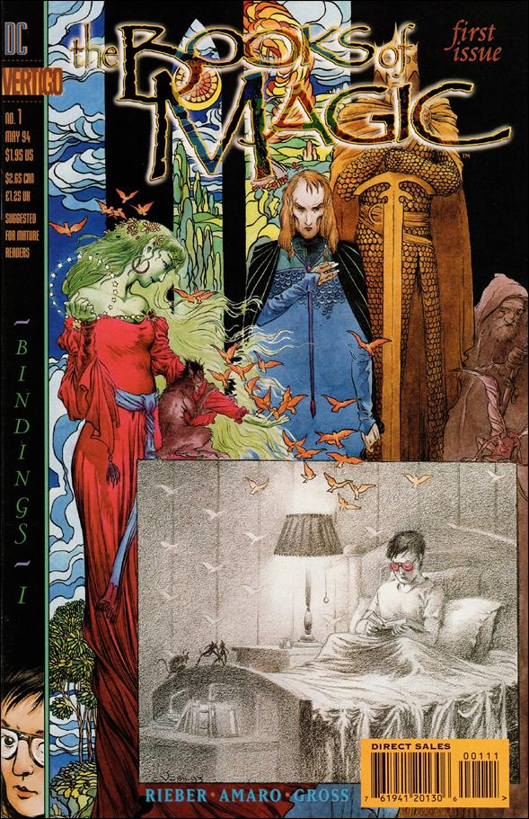 Books of Magic (1994) 1-A by Vertigo