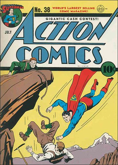 Action Comics (1938) 38-A by DC