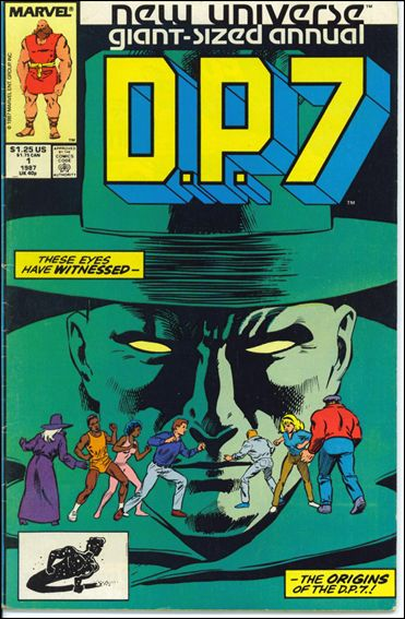 D.P.7 Annual 1-A by Marvel