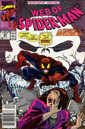 Web of Spider-Man (1985) 63-A
