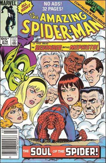 Amazing Spider-Man (1963) 274-B by Marvel