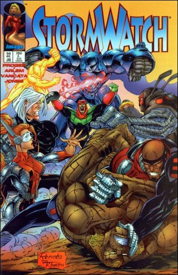 StormWatch (1993) 32-A by Image