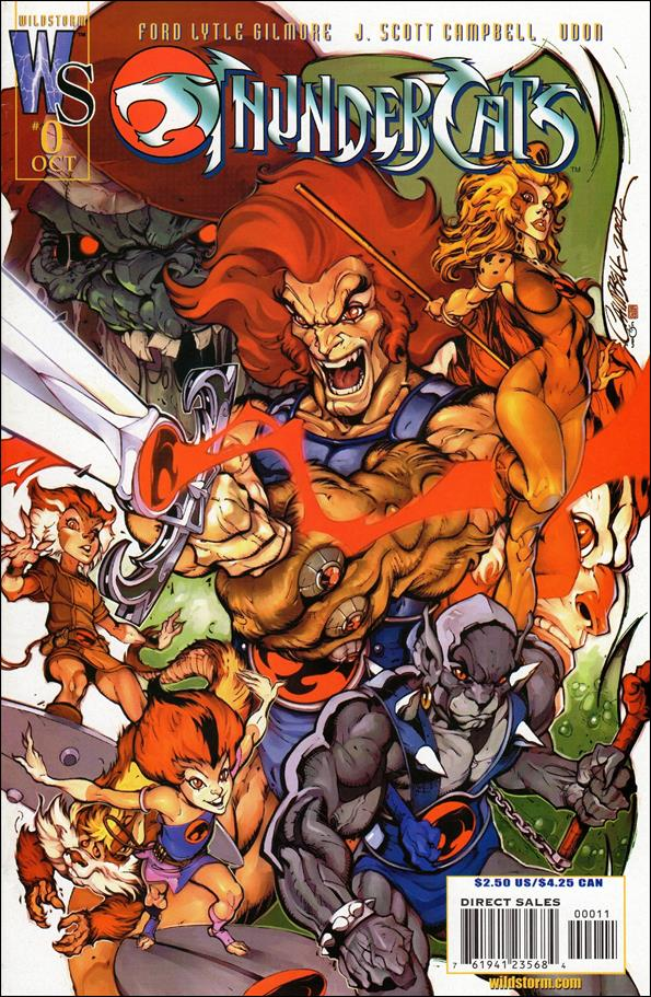 ThunderCats (2002) 0-A by WildStorm