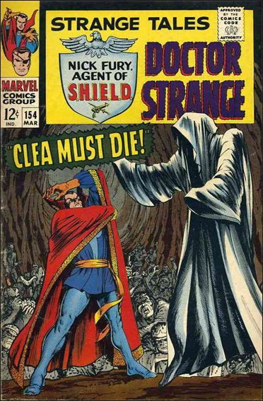 Strange Tales (1951) 154-A by Marvel