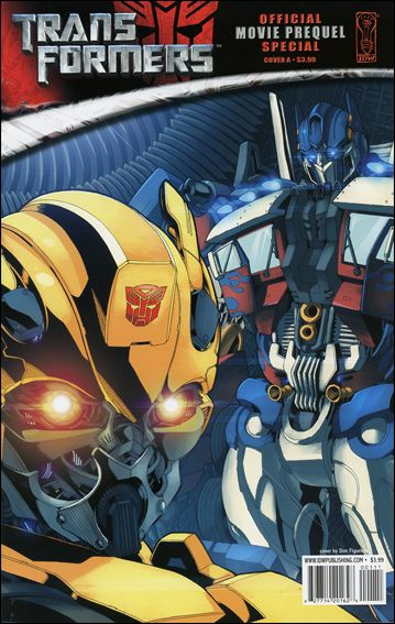 Transformers: Movie Prequel Special 1-A by IDW