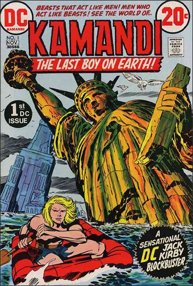 Kamandi, the Last Boy on Earth 1-A by DC