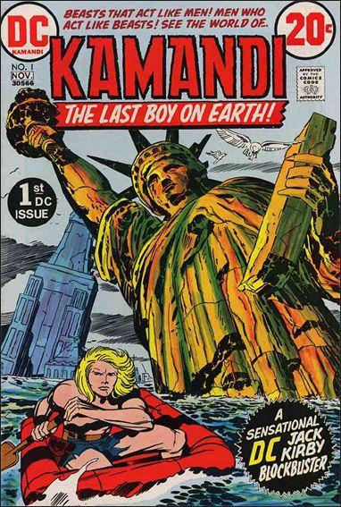 Kamandi, the Last Boy on Earth 1-A by DC