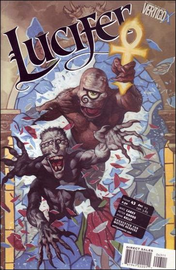 Lucifer (2000) 43-A by Vertigo