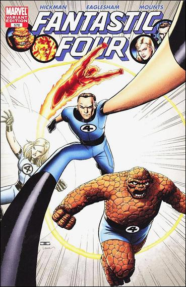 Fantastic Four (1961) 570-D by Marvel
