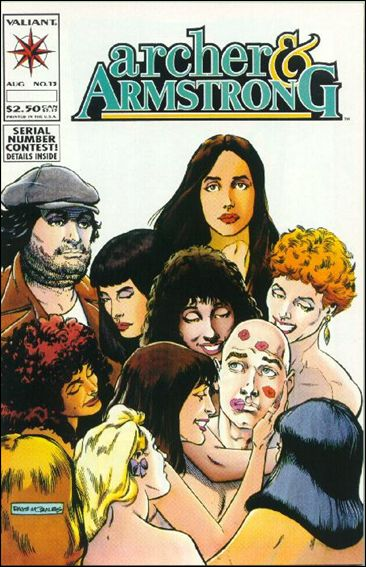 Archer & Armstrong (1992) 13-A by Valiant
