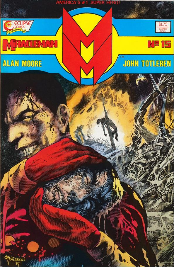 Miracleman (1985) 15-A by Eclipse