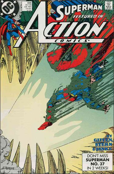 Action Comics (1938) 646-A by DC