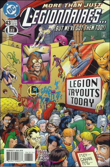 Legionnaires 43-A by DC