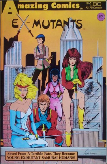 Ex-Mutants (1986) 3-A by Eternity