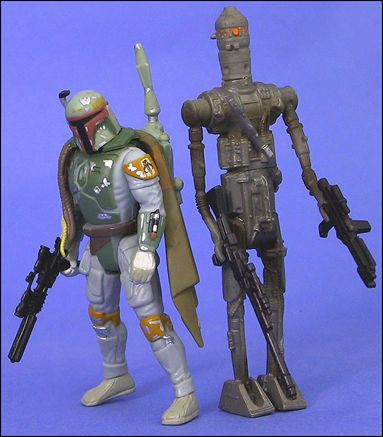 Star Wars: Shadows of the Empire Multi-Packs Boba Fett vs. IG-88 Multi-Pack w/ Comic by Kenner