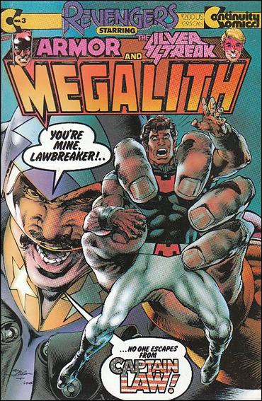 Revengers Featuring Megalith 3-A by Continuity Comics