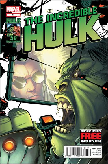 Incredible Hulk (2011)  13-A by Marvel
